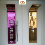 Shower Screen Set with Rose Golden