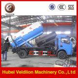 Dongfeng 7 Ton Vacuum Sewage Suction Truck (weilong pump)