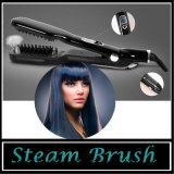 Electric Steam Brush Hair Straightener Comb