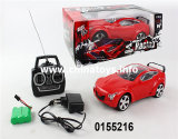 Hot Sale Toy 4-CH Remote Control Car Toy (0155216)