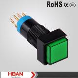 Hbs2f Series 12mm Square Plastic Signal Light