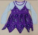 Wholesale Children Clothing Girl T-Shirt in Long Sleeve (STG029)
