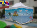Digital Printing Colorful Advertising folding Tent for Beach