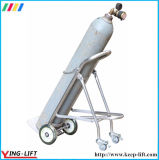 Foldable Stainless Steel Cylinder Hand Trolley Ty120b