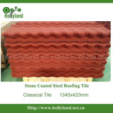 Stone Chips Coated Metal Tile (Classical Type)