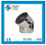 Ce Stainless Steel 45 Degree Elbow