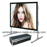"180"" Front and Rear Fast Fold Projection Screens"