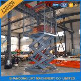 2.5m Hydraulic Fixed Electric Cargo Scissor Lift Platform