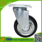 Hand Trolley Black Rubber Wheels Caster