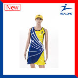 Light Weight Sublimated Girls Netball Dresses