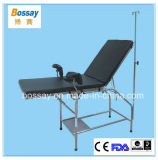 Clinic Patient Examination Bed Medical Exam Bed With Backrest