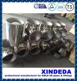 Pipe Fittings Stainless Steel Equal Tee Surface Polishing ANSI B16.9