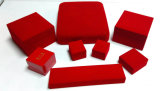 Red Plastic Jewelry Set Box