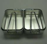 2 Sets Aluminum Food Box for Outdoor