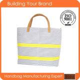 Hot Sale Promotional Canvas Lady Fashion Tote Bag (BDM009)