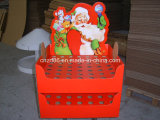 Christmas Paper Display Stand Box for Christmas Toys, Candy