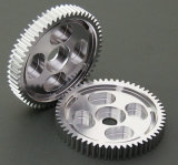 Aluminum Anodised Motorcycle Spur Gears for Racing Car/Telecontrolled Aircraft