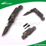 Multi Function Survival Rescue Folding Knife with Fire Starter