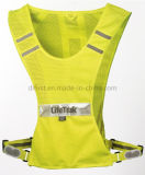 Fashion Sports Safety Vest for Running with Reflective Signs