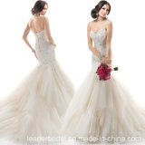 Mermaid Wedding Dress Sweetheart Lace Custom Bridal Gown HP1663