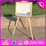 2015 Brand New Wooden Table Easel, Tavolo in Legno Cavalletto, Kids′ Wooden Table Easel, Wood Table Easel for Baby W12b088