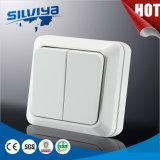 2 Gang 1 Way Wall Switch (European standard 16A 250V)