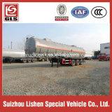 Tri Axle Liquid Bitmen Semi Trailer Heating Bitumen Tanker Transportation