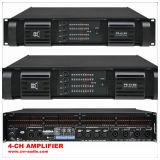 Professional Amplifier Class D 4 Channel Power Amplifier Sonarisation