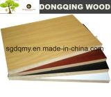 Oak Melamine Paper Face MDF Sheet for Furniture/Cabinet