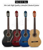 Aiersi Hot Sale Handmade Vintage Spanish Nylon String Classical Guitar