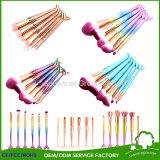 Latest Fads Synthetic Hair Make up Fish Tail Brush Vegan Mermaid Makeup Brush for Cosmetics Makeup