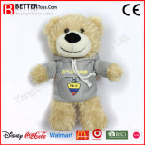 ASTM Stuffed Animal Plush Toy Soft Teddy Bear in Hoodie