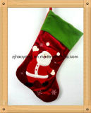 Santa Claus Christmas Stocking with Fiber Optic