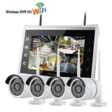 4CH Wireless NVR Kit Security Recording System with 11inch Screen