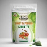 Honey and Pomelo Green Tea for Daily Use