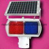 Road Safety Solar Powered Traffic Warning Emergency Light