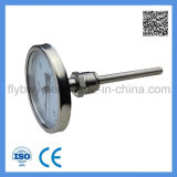 Industrial Bimetal Thermometer, Integrated Temperature Transmitter