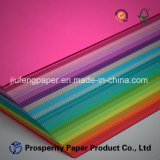 Uncoated Wood Pulp Packaging Printing Speciality Color Paper
