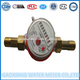 Single Jet DTY Dial Water Meter Dn15mm