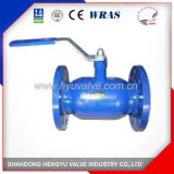 Industrial Cast Iron Welded Ball Valve with Flange