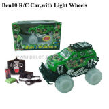 1: 16 4channel R/C Car Toy with Light an Music
