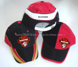 Sports Cap with Piping/ Headwear 24 Polyester with Mesh (DH-B160)