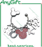 Metal Keyring with Customized Size and Logo 52
