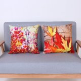 Digital Print Decorative Cushion/Pillow with Botanical&Floral Pattern (MX-94)