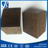 Steel Angle Bracket with Drill Holes