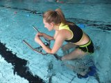 Stainless Steel Swimming Pool Exercise Bike