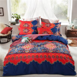 China Supplier Bedding 100% Polyester Solid Bed Sheet Set