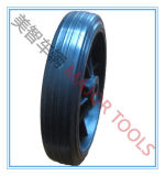 a Series of Solid Rubber Wheel with Plastic Rim