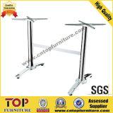 Rectangular Top Stainless Steel Leg Restaurant Table