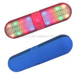 Professional Mini Portable Pill Bluetooth Loudspeaker with LED Light (BT808L)